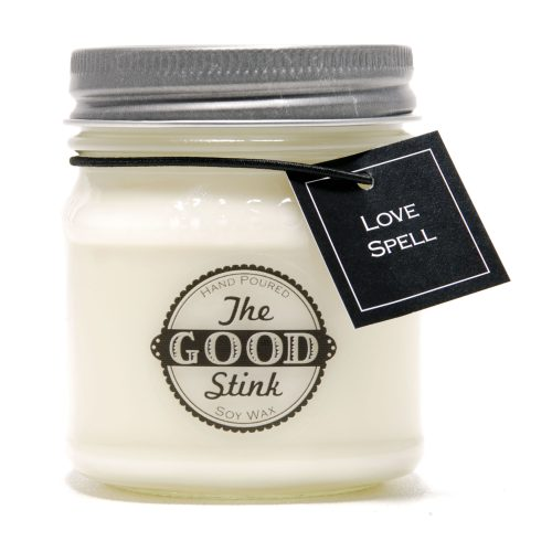 Soy Candle - Caramel Popcorn - The Good Stink Original Stinker