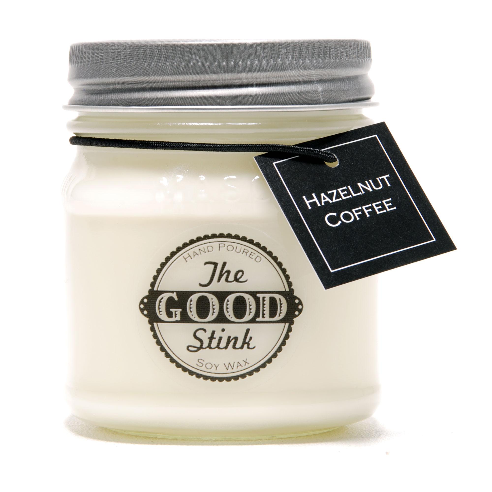 Soy Candle - Hazelnut Coffee - The Good Stink Original Stinker