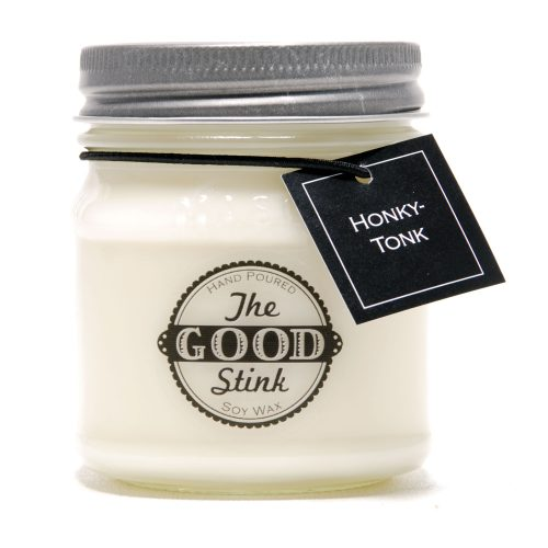 Soy Candle - Honky Tonk - The Good Stink Original Stinker