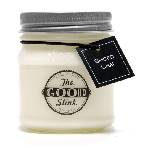 Soy Candle - Spiced Chai - The Good Stink Original Stinker